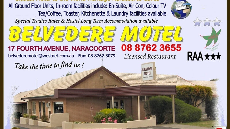 Belvedere Motel - Tourism Bookings WA