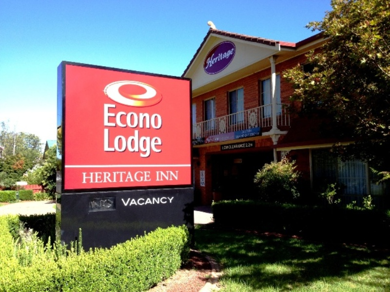 Econolodge Heritage Inn - Tourism Bookings WA
