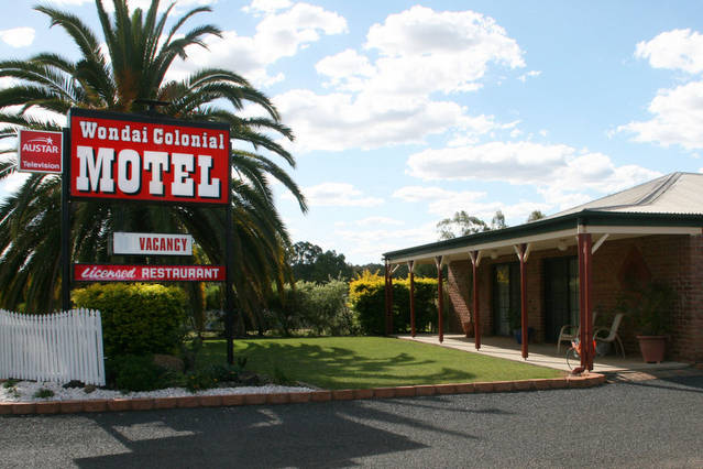 Wondai Colonial Motel and Restaurant - Tourism Bookings WA