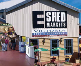 The E Shed Markets - Tourism Bookings WA