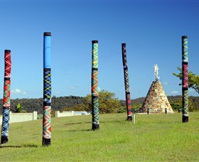 Maclean Tartan Power Poles - Tourism Bookings WA