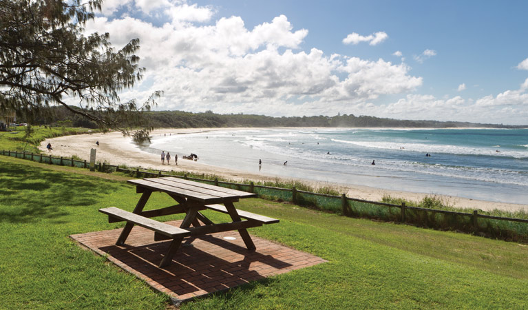 Woolgoolga Beach and Headland