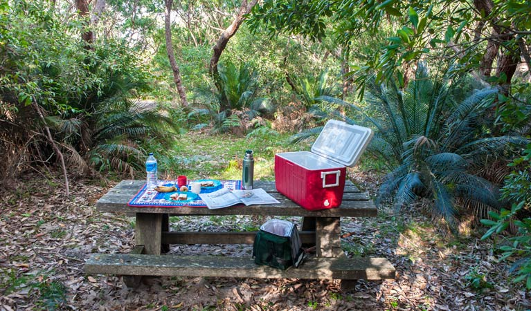 Broadwater Beach picnic area