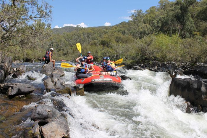 Rafting Australia - Tourism Bookings WA