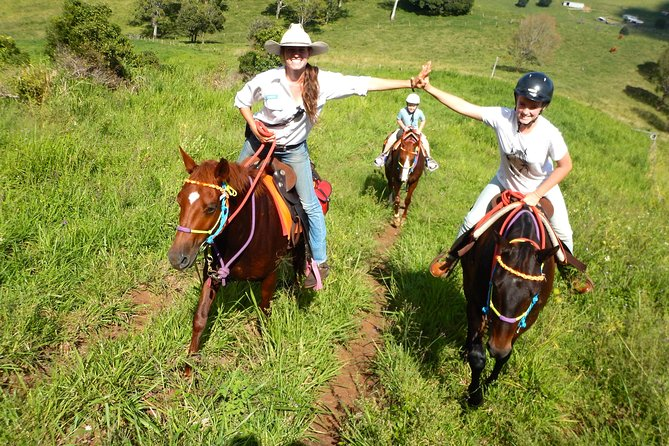 Country Day Ride from Mt Goomboorian with Rainbow Beach Horse Rides - Tourism Bookings WA