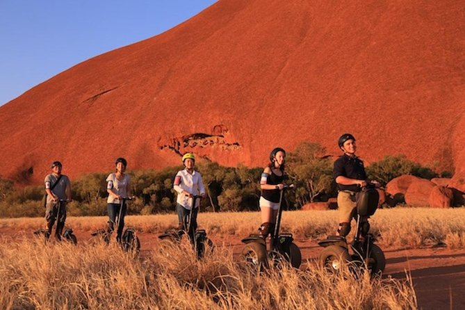 Quarter Uluru Segway  Sunset - Tourism Bookings WA