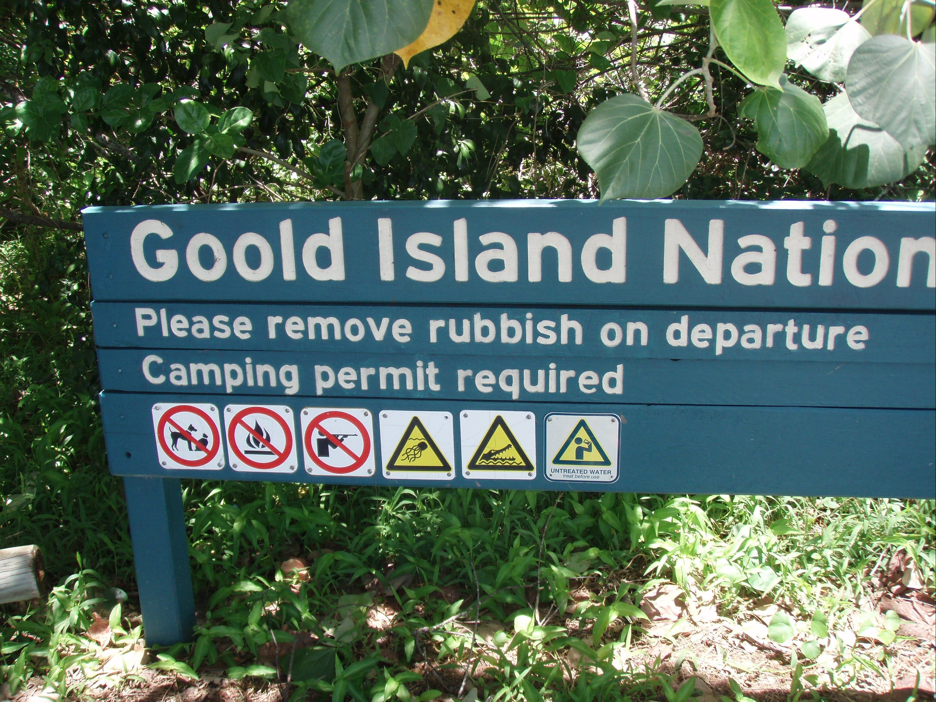 Goold Island National Park - Tourism Bookings WA