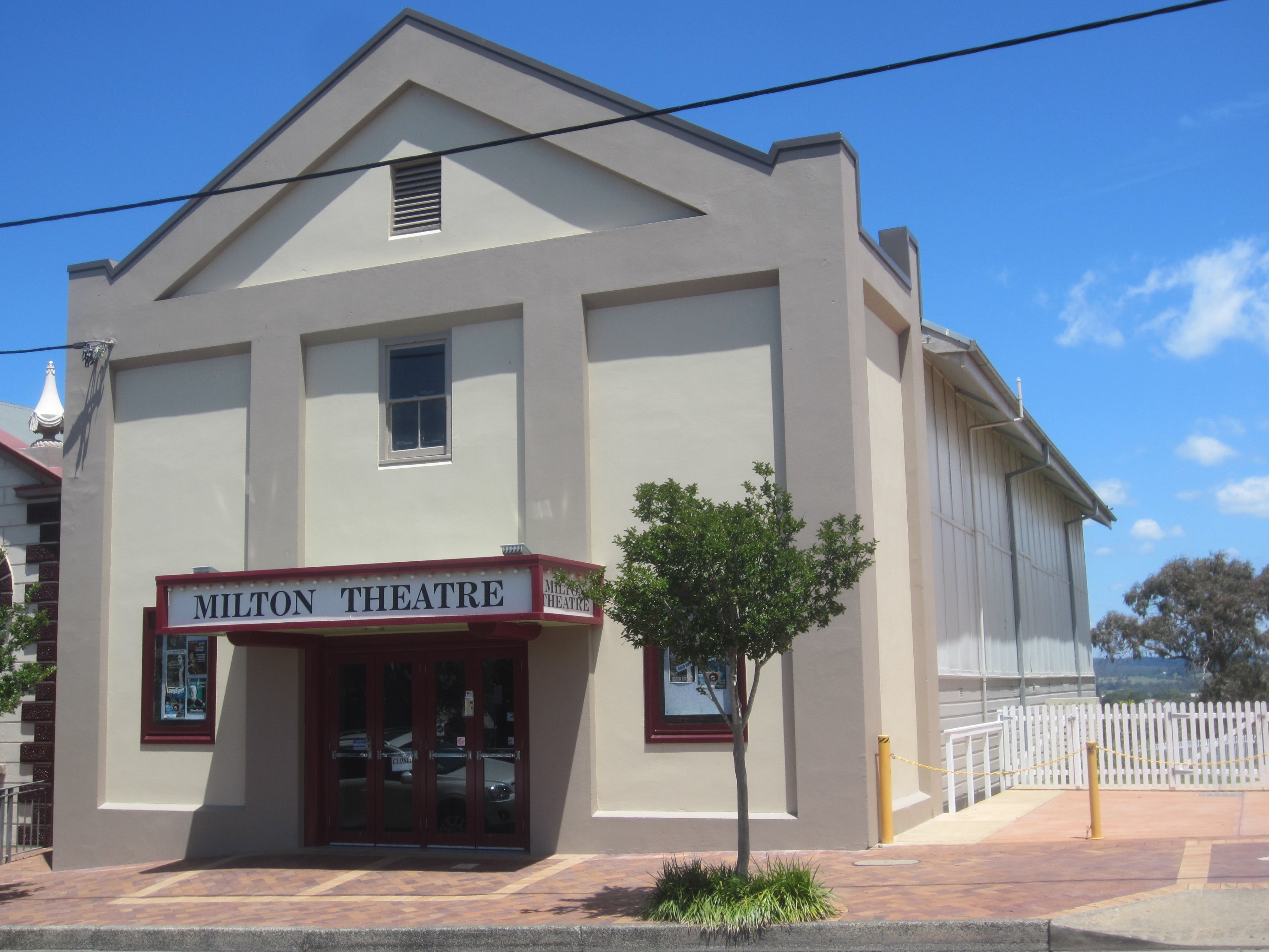 Milton Theatre - Tourism Bookings WA