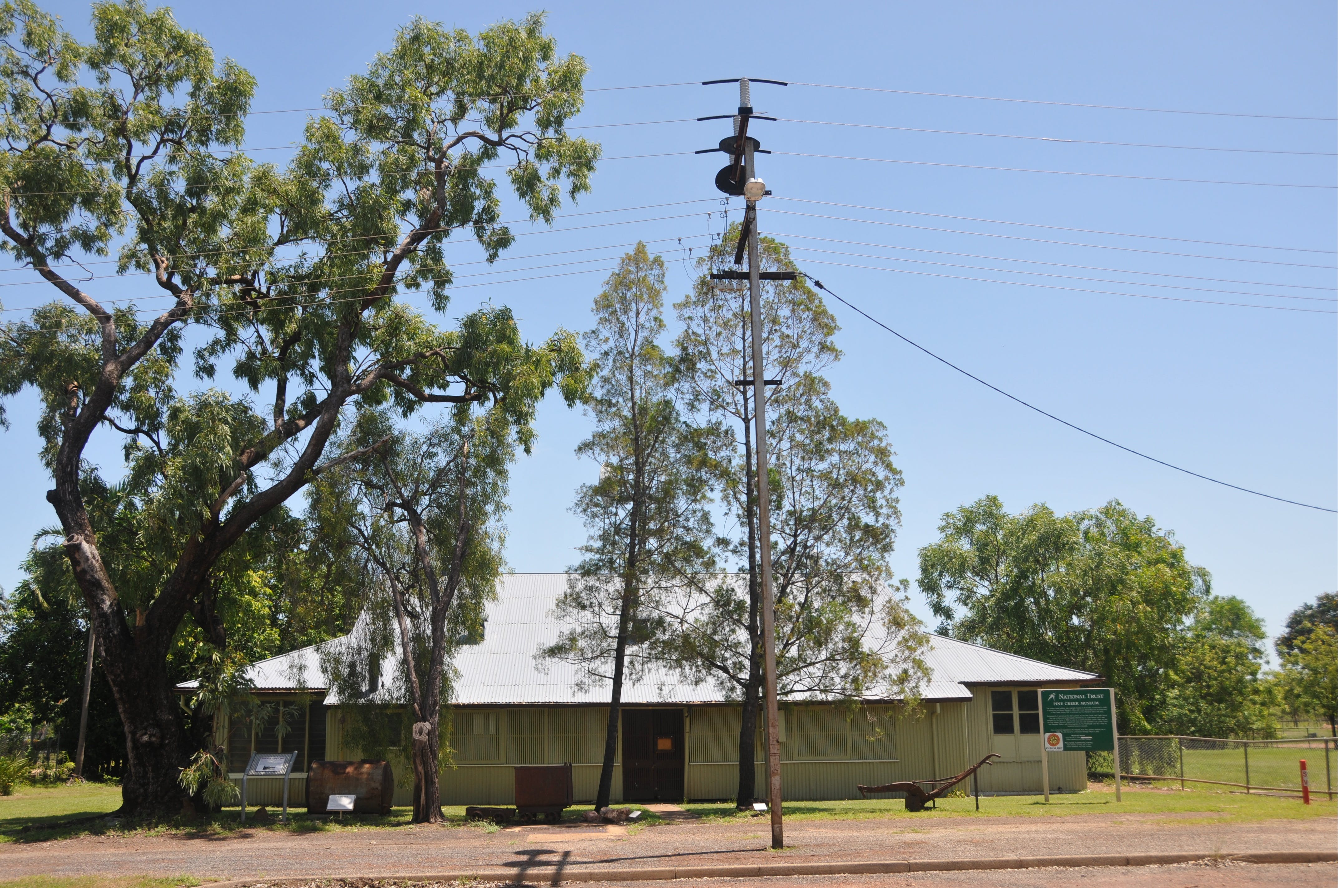 Pine Creek Post Office and Repeater Station - Tourism Bookings WA