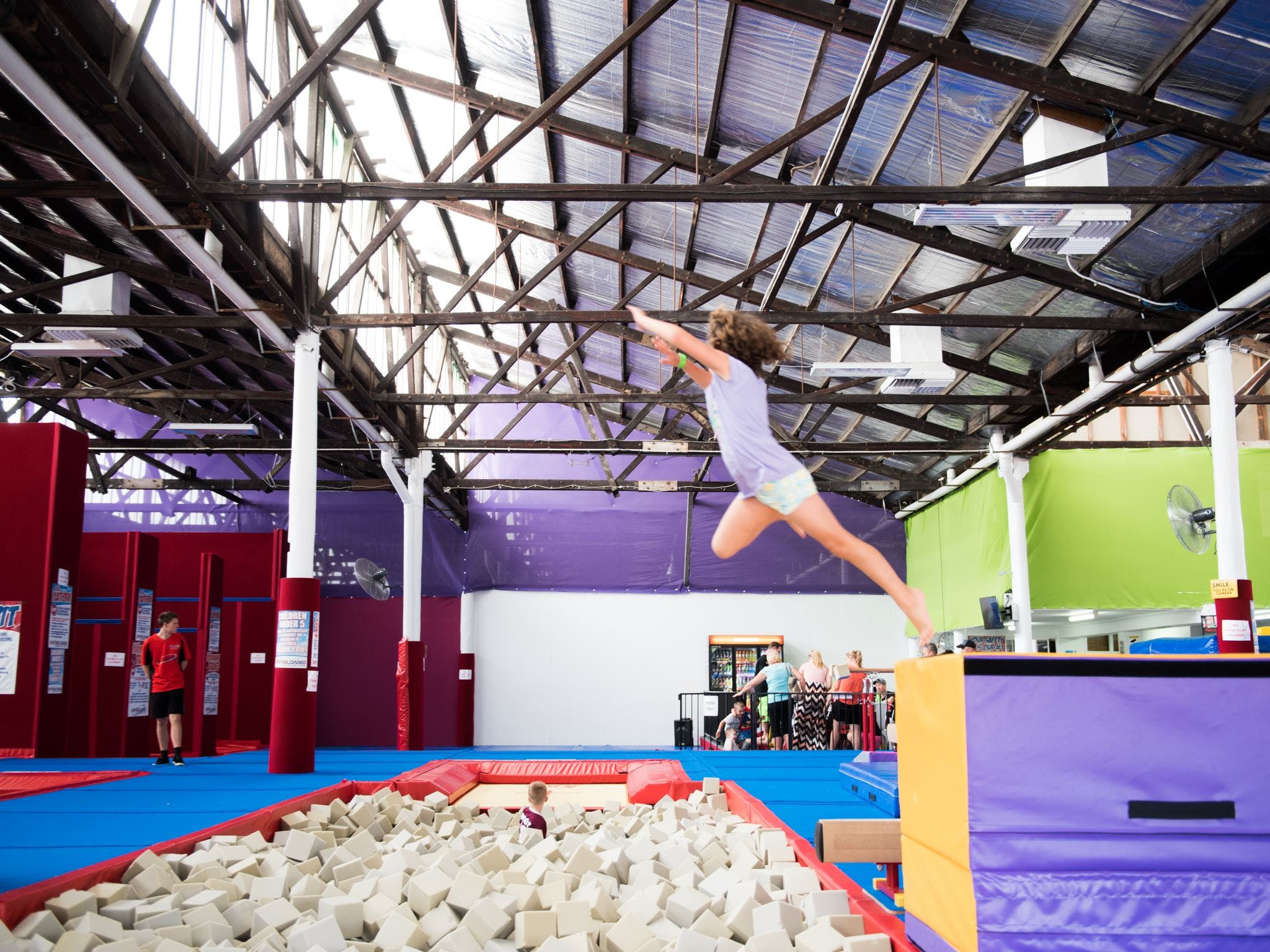 Springloaded Trampoline - Tourism Bookings WA