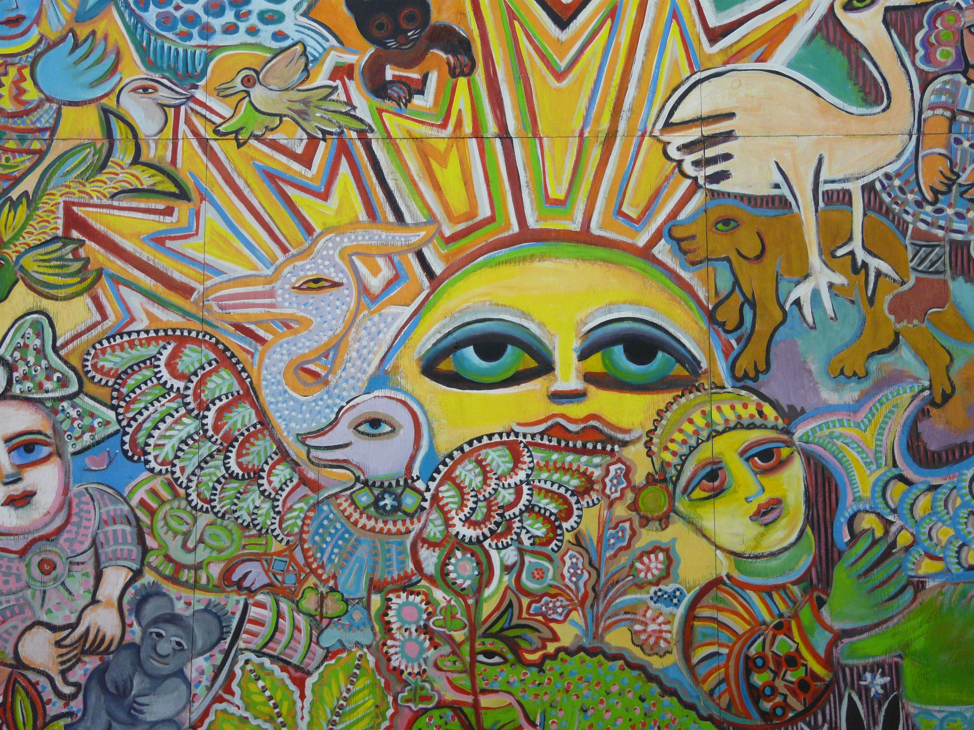 The Painting of Life by Mirka Mora - Tourism Bookings WA