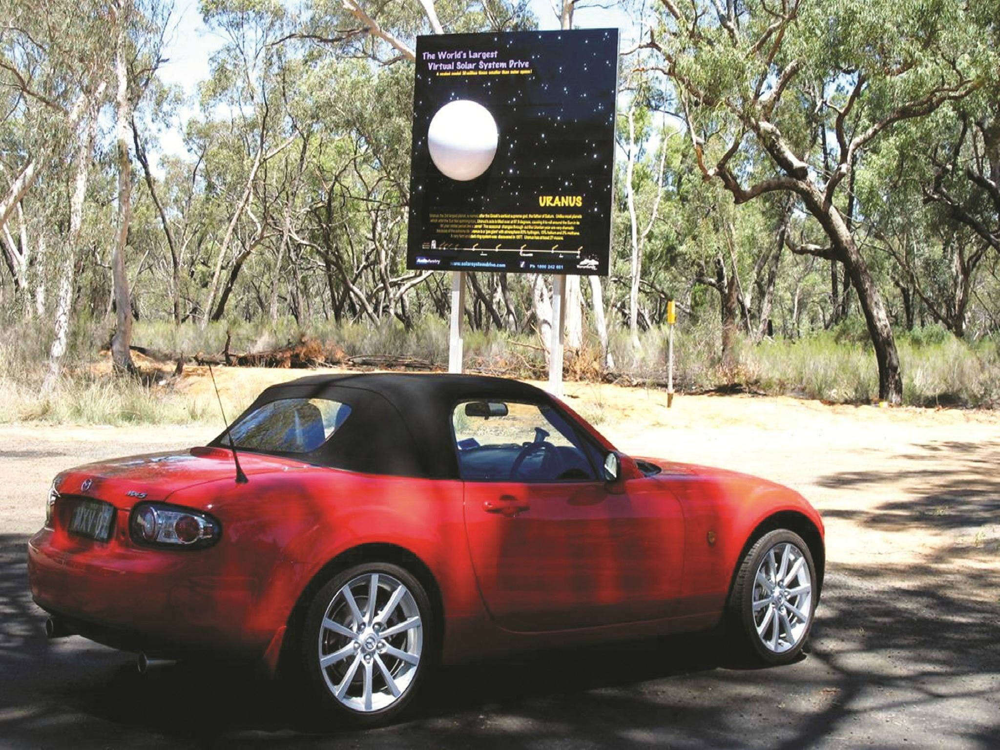 Worlds Largest Virtual Solar System Drive - Tourism Bookings WA