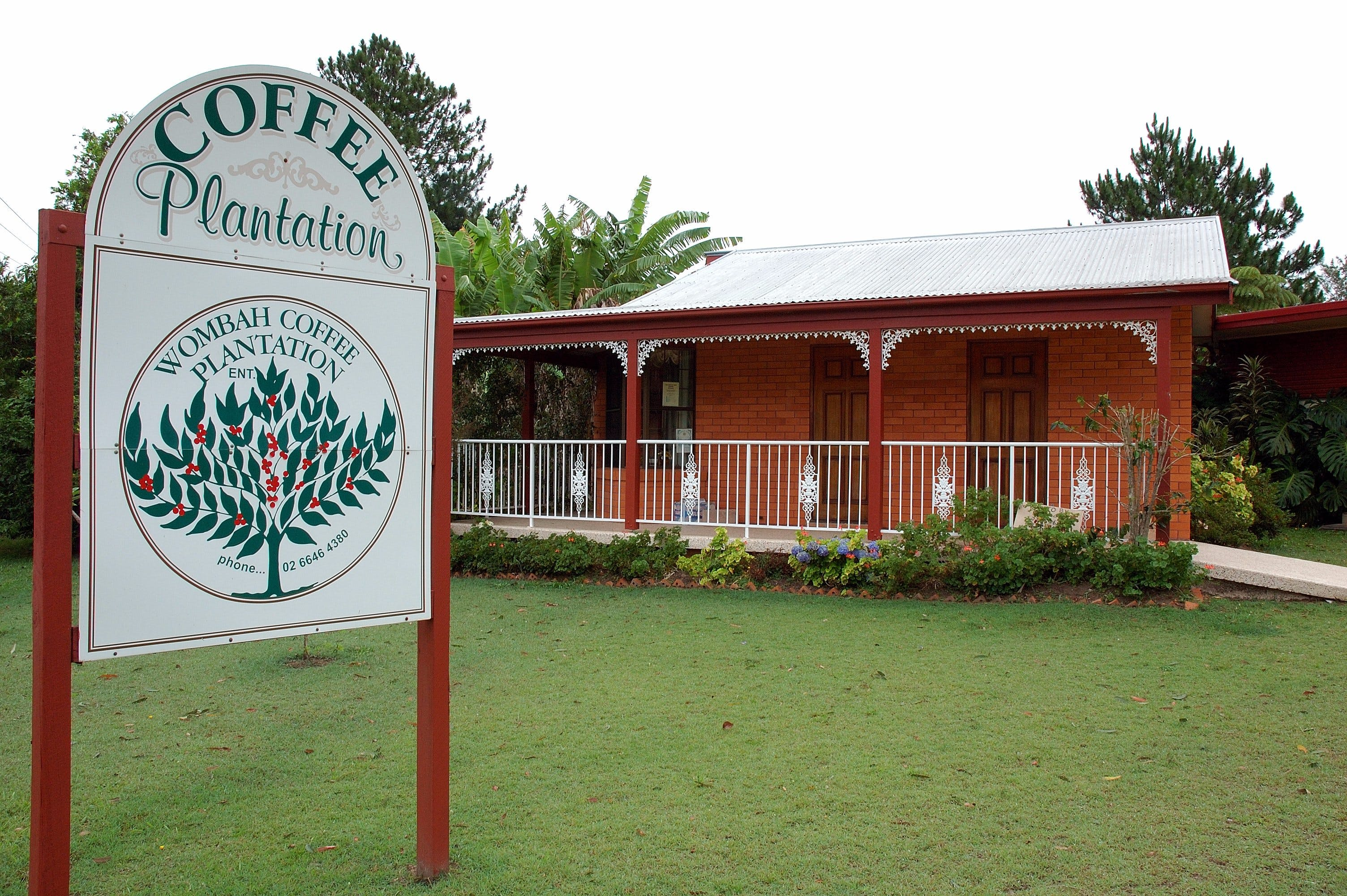 Wombah Coffee Plantation - Tourism Bookings WA