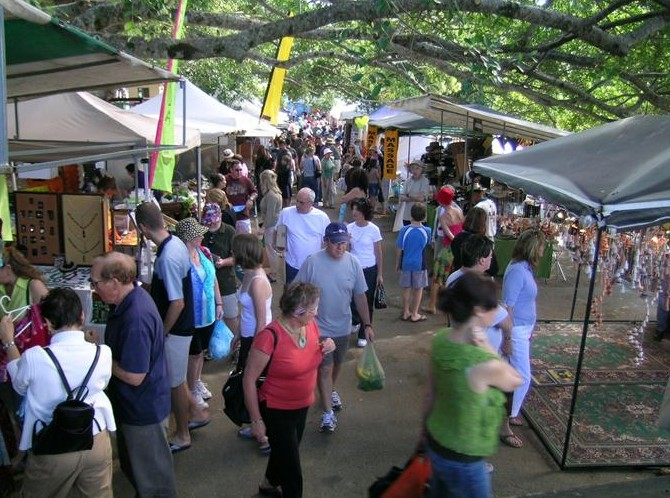 Eumundi Markets - Tourism Bookings WA