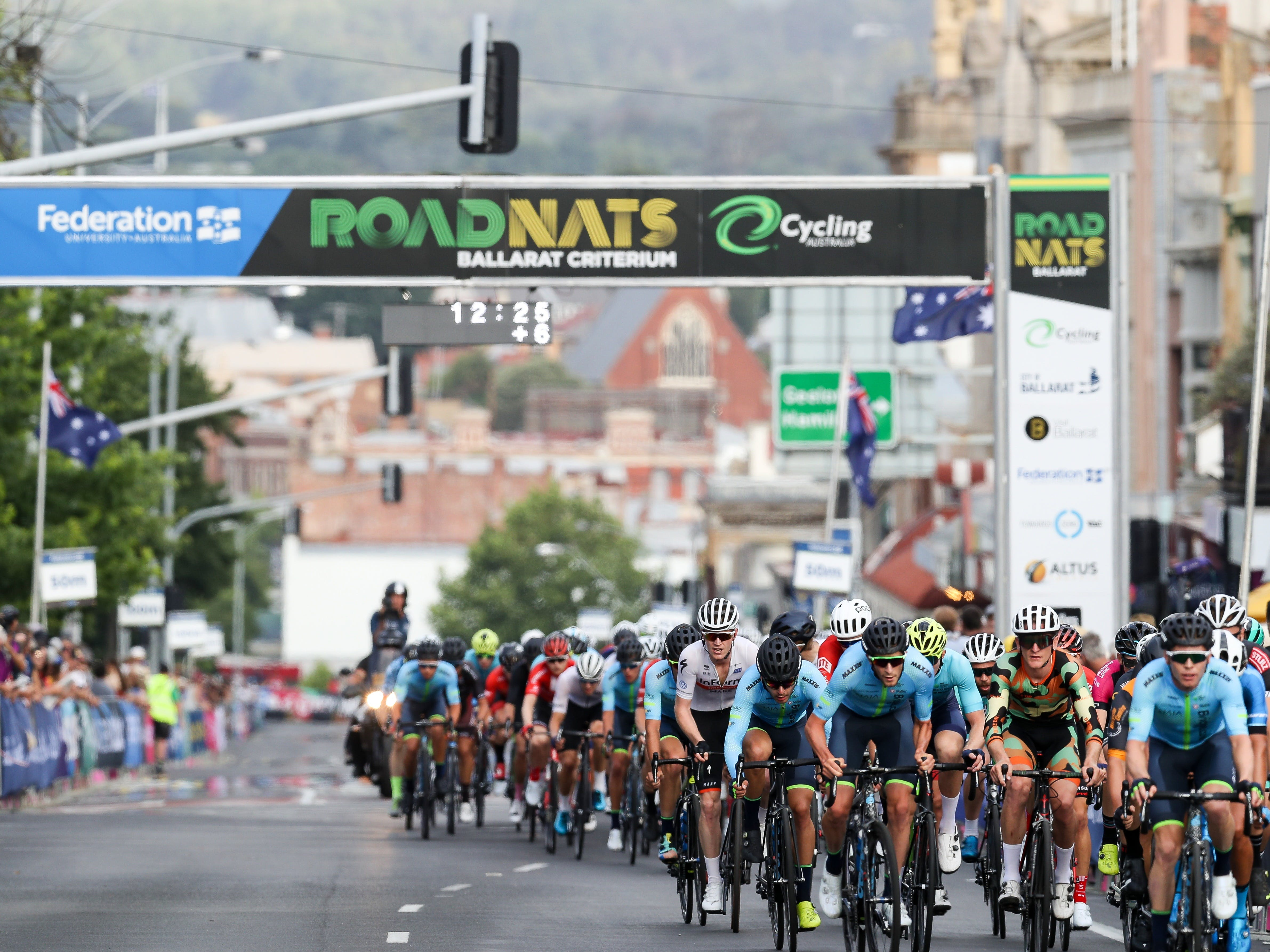Federation University Criterium National Championships - Ballarat - Tourism Bookings WA