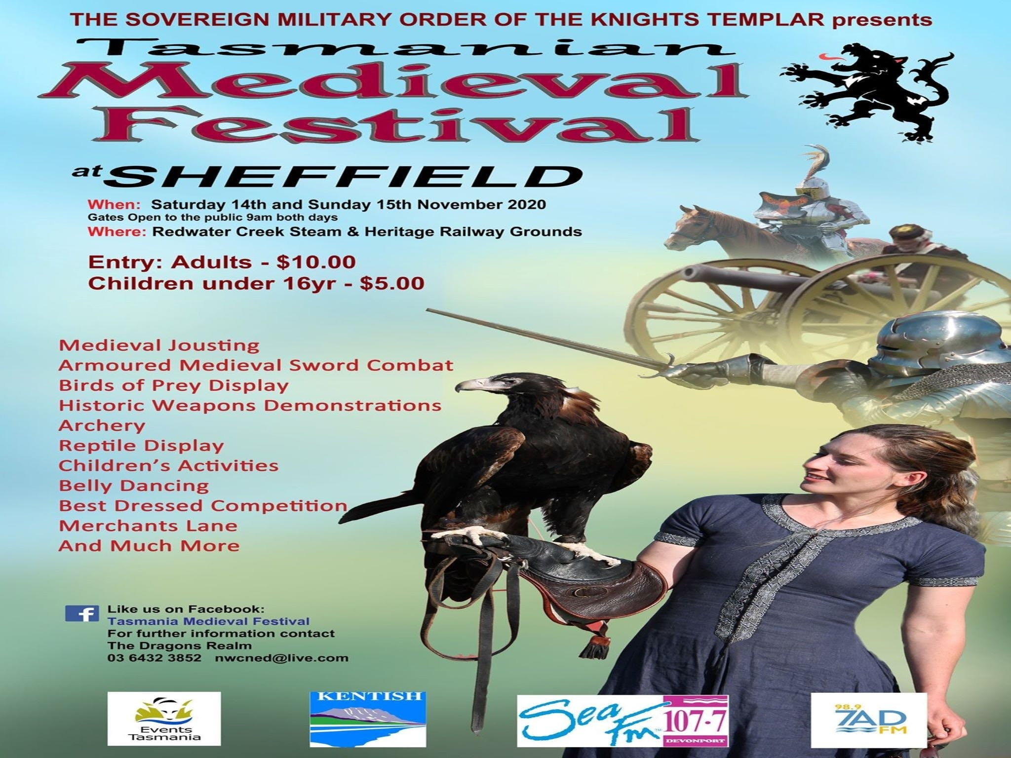 Sheffield Tasmania Medieval Festival 2020 - Tourism Bookings WA