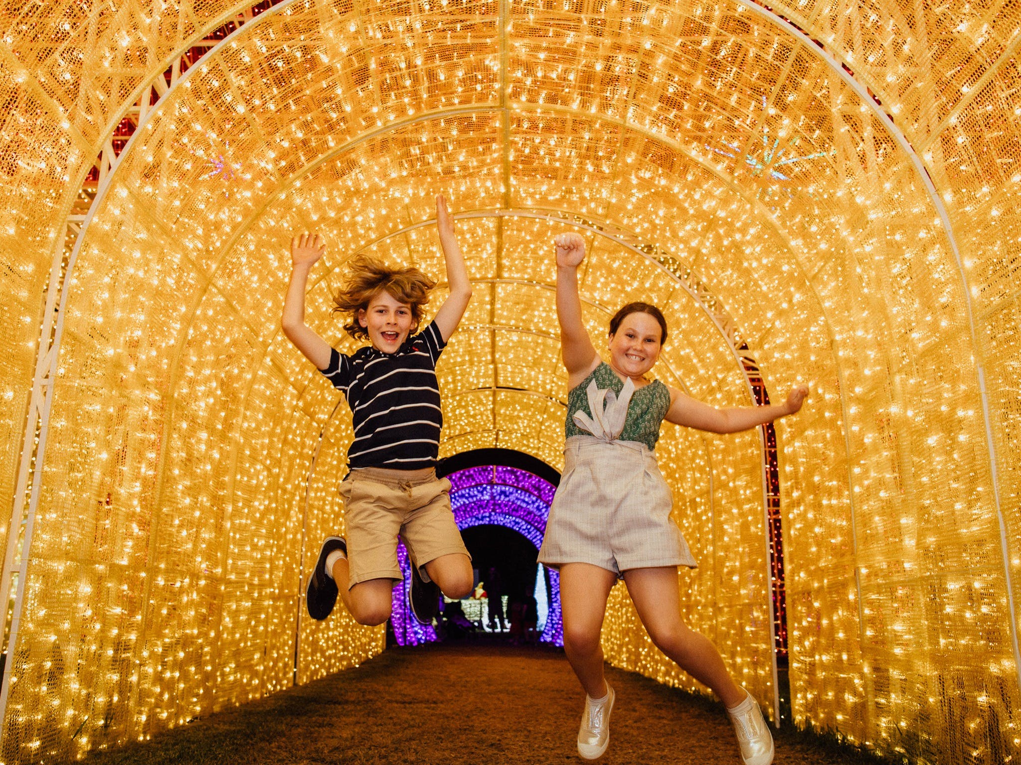 Christmas Lights Spectacular New Year's Eve at Hunter Valley Gardens - Tourism Bookings WA