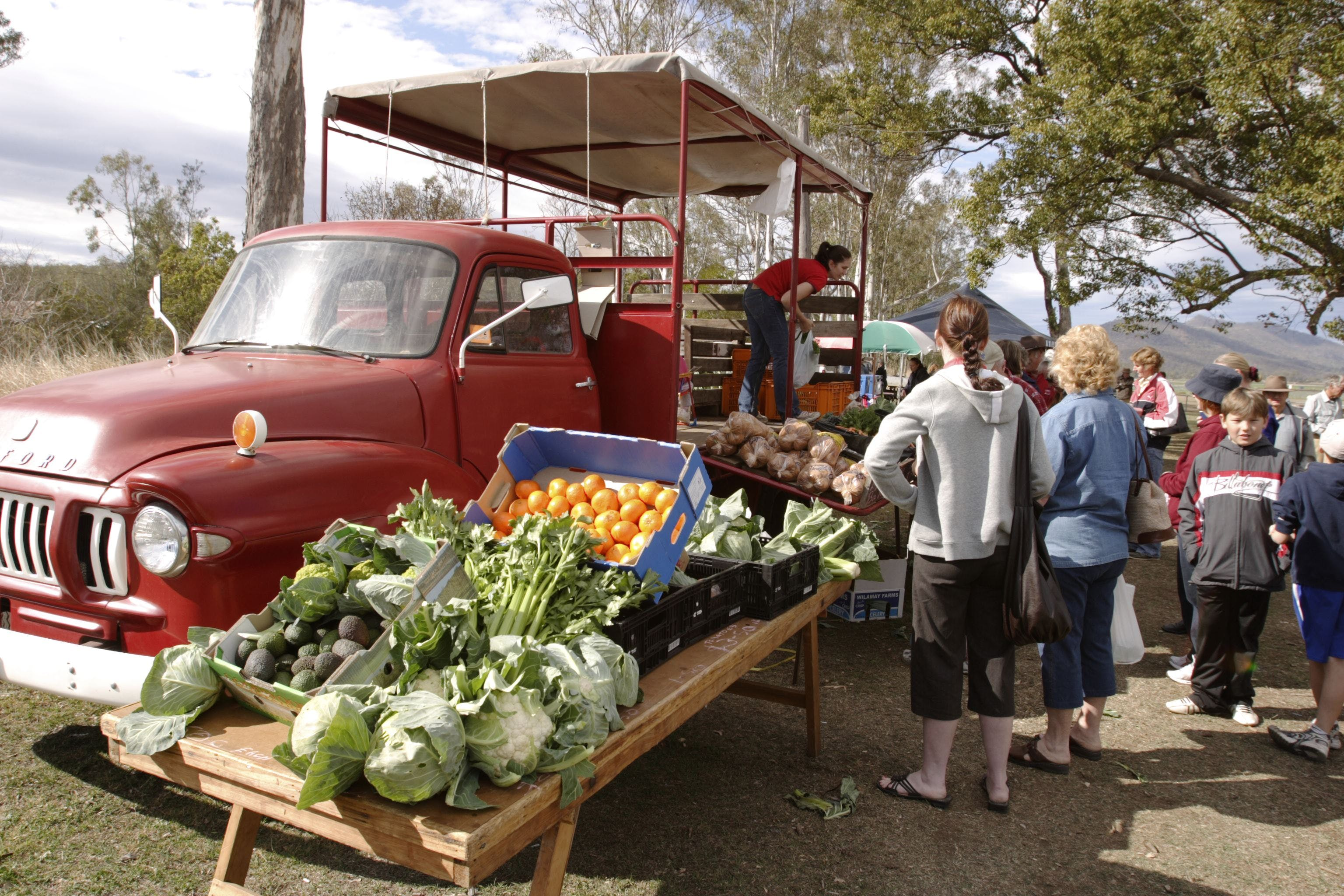 Murphys Creek Markets - Tourism Bookings WA