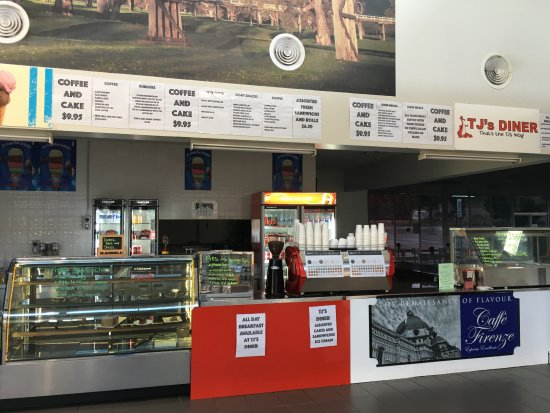 Tj's Diner - Tourism Bookings WA