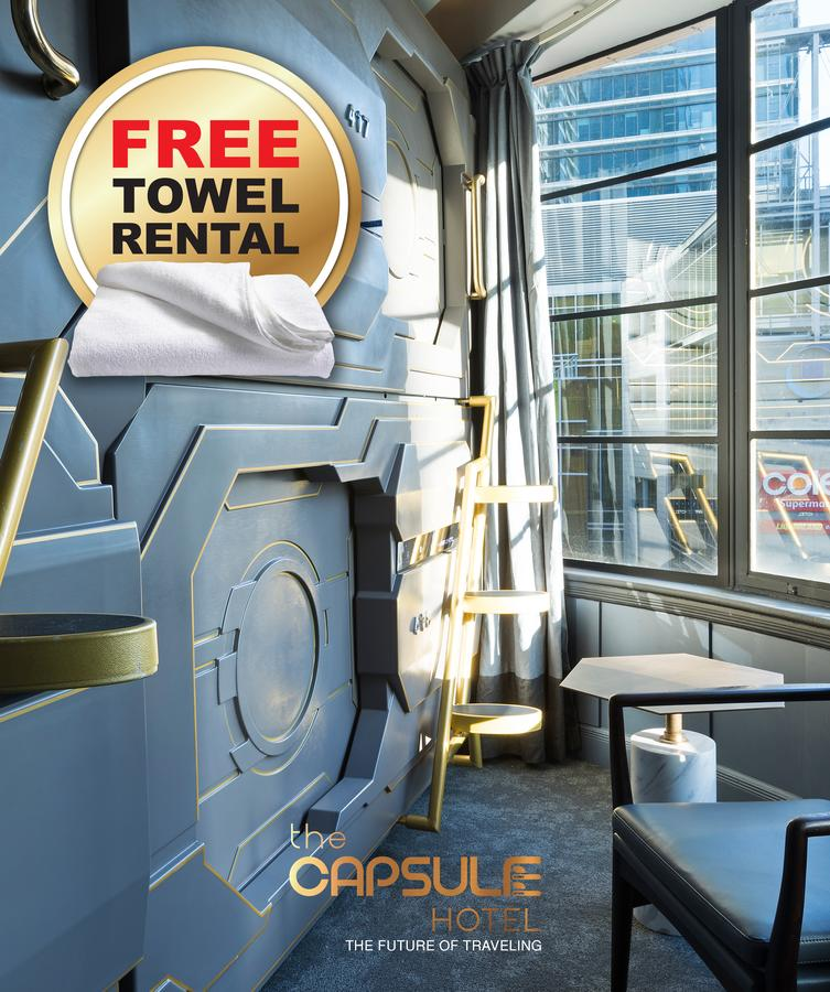 The Capsule Hotel - Tourism Bookings WA